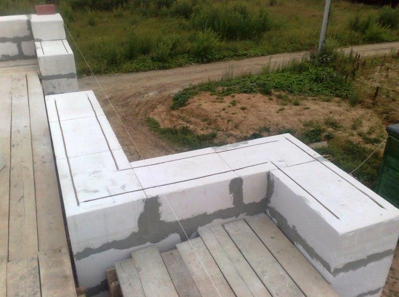Основное применение пенобетона в строительстве и интерьере