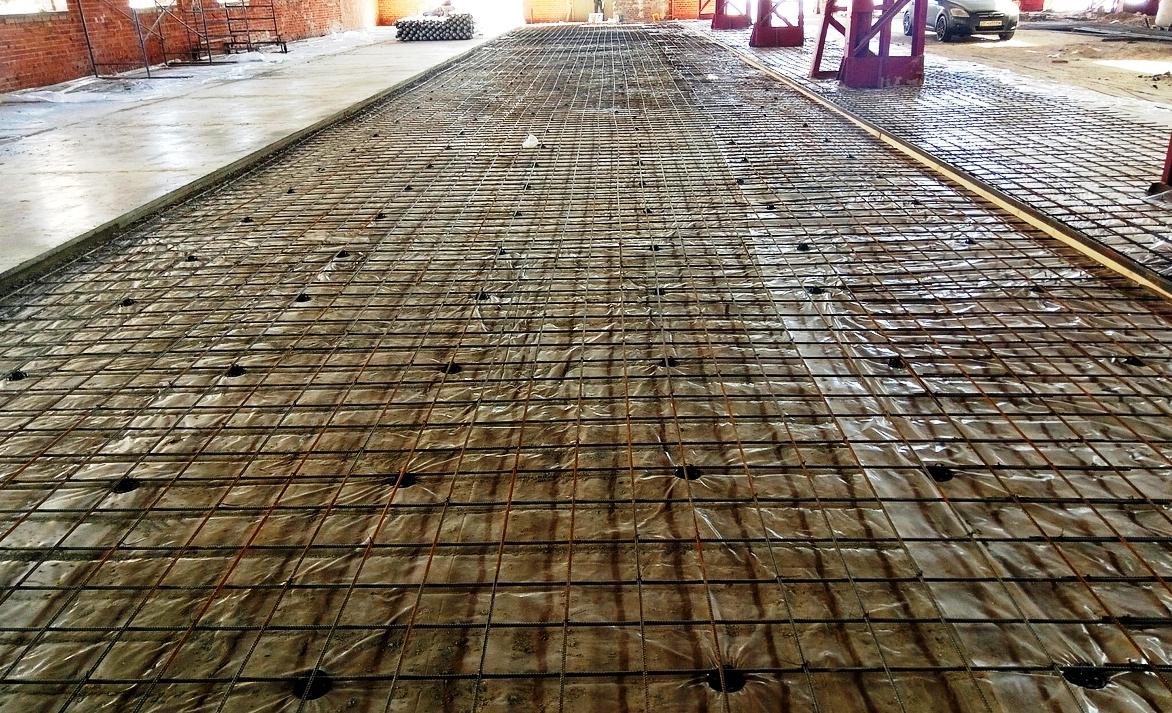 Вакуумируемый бетон мозайка бетон